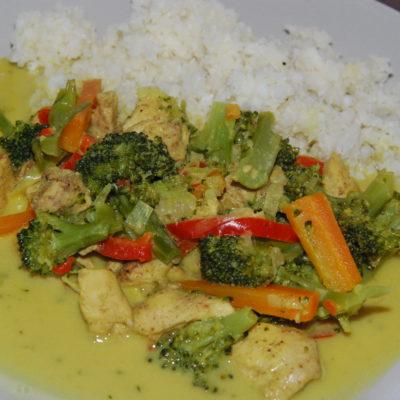 Chicken curry rett