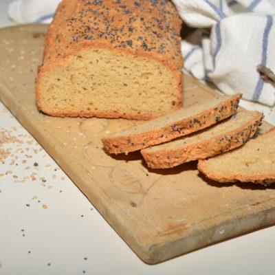 Lavkarbo og glutenfri «loff» eller rundstykker