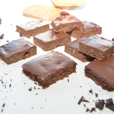 Saftig søtpotet brownie
