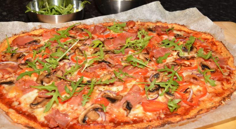 Superdigg blomkålpizza